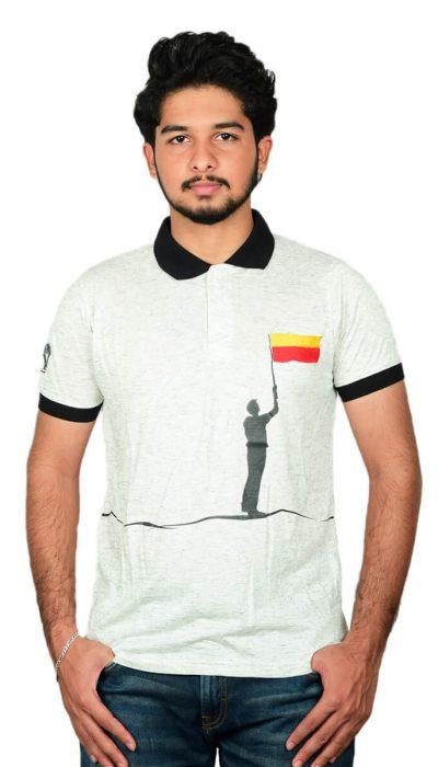 Kannada Flag T-shirt-01