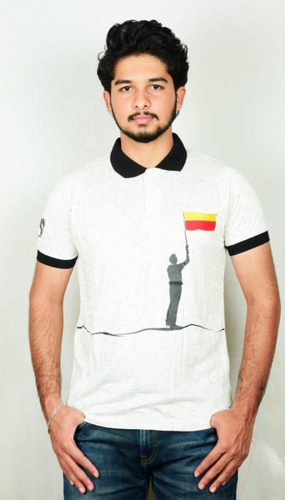 Kannada Flag Tshirt-01