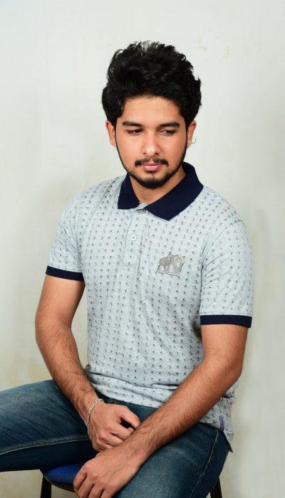 KannadaFont-Polo-Collar-Tshirt